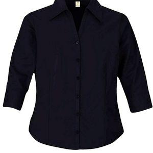 Landmark women's stretch shirt with EZ-care 2XL